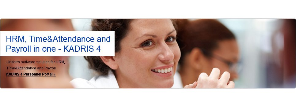 Simplify your work with an integrated information system (Personnel + Attendance + Payroll = KADRIS