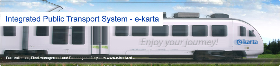 Integrated Public Transport System - e-karta
